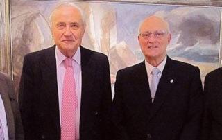 Visita del Delegado de la Xunta de Galicia en Madrid y Director de la Casa de Galicia