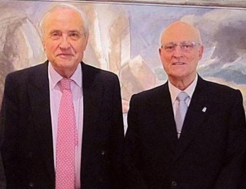 Visita al Delegado de la Xunta de Galicia en Madrid y Director de la Casa de Galicia