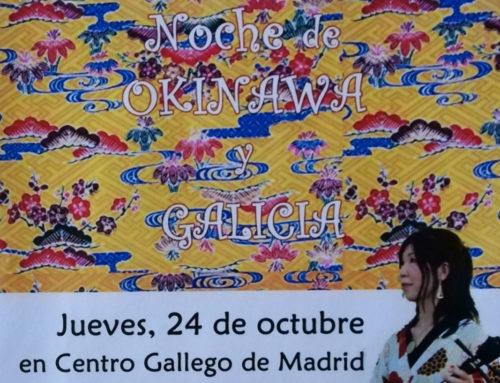 Concierto: noche de Okinawa y Galicia