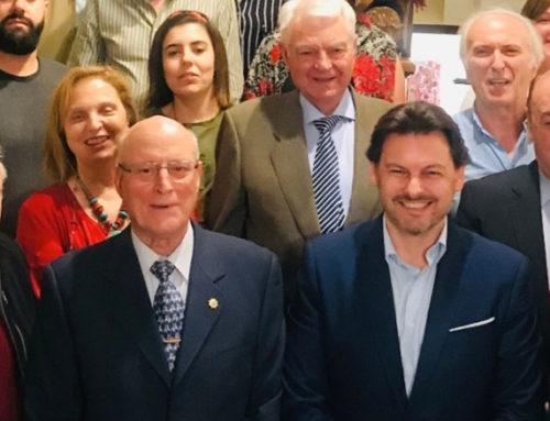 Reunión de los directivos de los centros y asociaciones gallegas de la Comunidad de Madrid