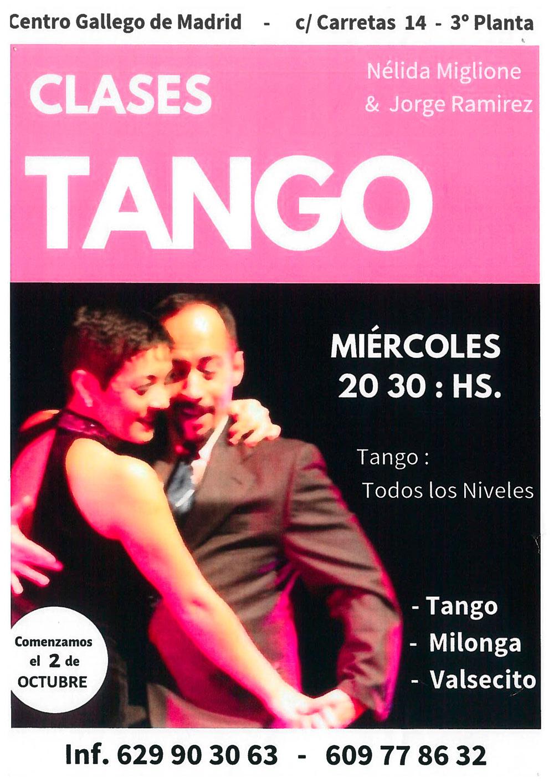 Nélida y Jorge. Clases de Tango