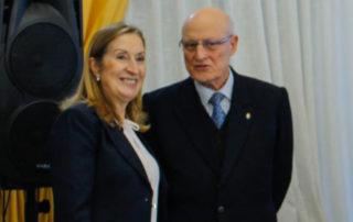 Doña Ana Pastor con Don Fernando Rey