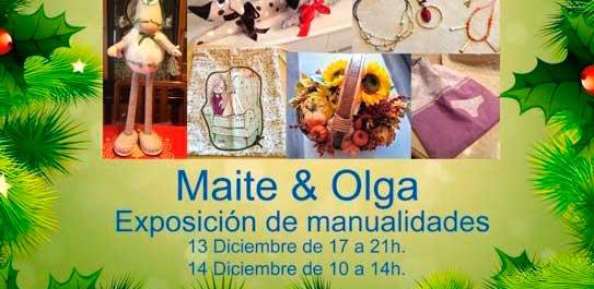 Exposición de manualidades de Maite & Olga
