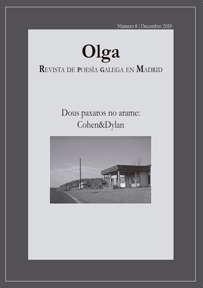 Número 8 de Olga, Revista de Poesía Galega en Madrid