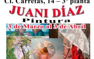 Exposición Jauni Díaz en el Centro Gallego de Madrid