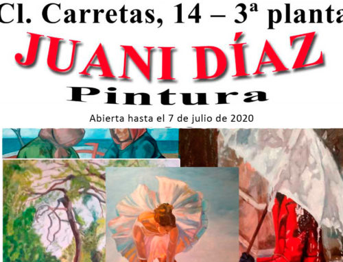 Exposición de pintura con la obra de Juani Díaz en el Centro Gallego de Madrid