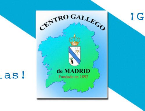 Carta de agradecimiento a los socios del Centro Gallego de Madrid
