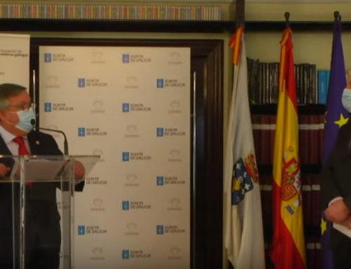 Asomega entrega la Insignia de Oro 2020 a José Ramón Ónega López, Presidente de Honor del CGM