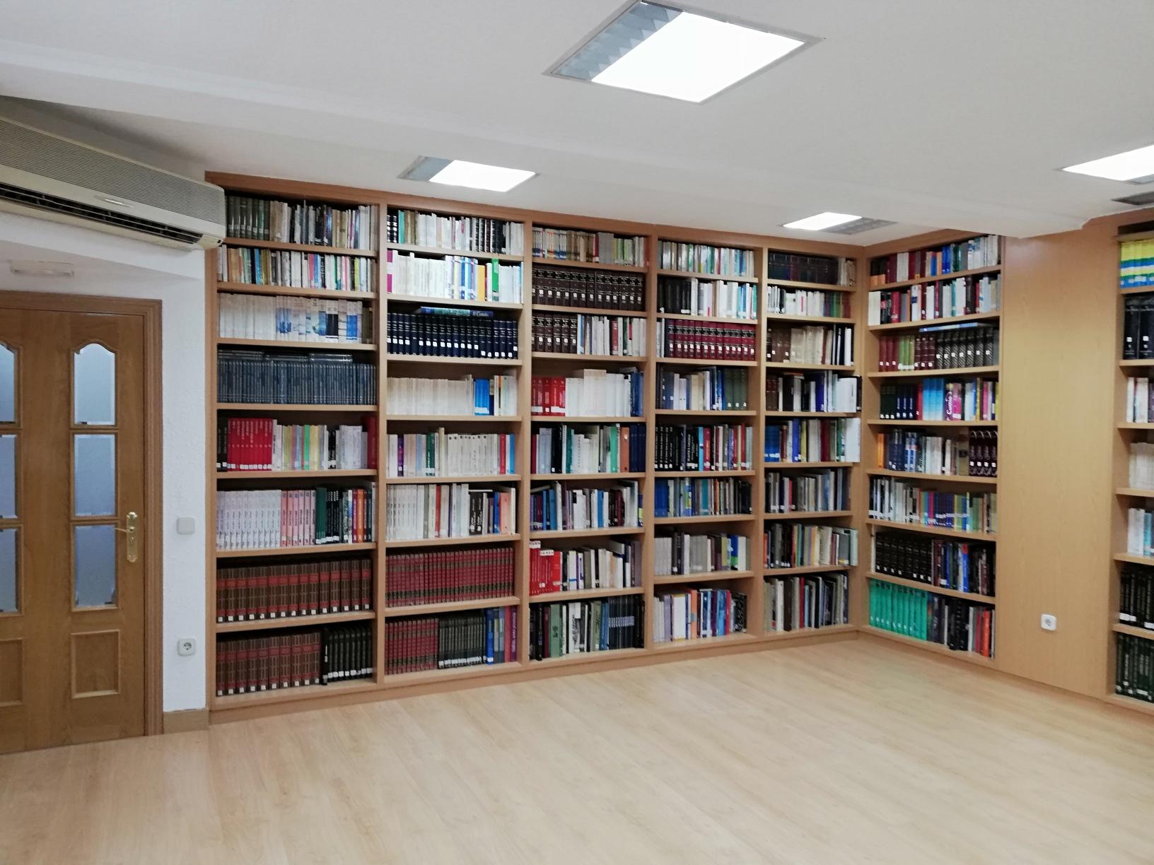 Biblioteca del Centro Gallego de Madrid