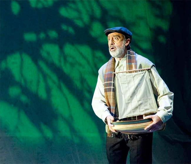 Retransmisión, vía telemática, de la obra 'O charco de Ulises' producida por el Centro Dramático Galego
