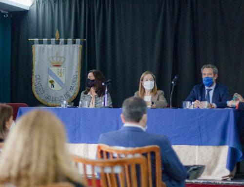 Visita de importantes personalidades para impulsar la labor del Centro Gallego de Madrid