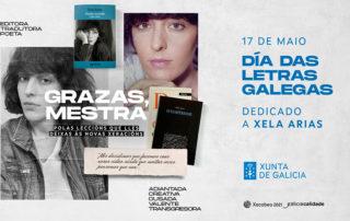 Xela Arias. Día das Letras Galegas