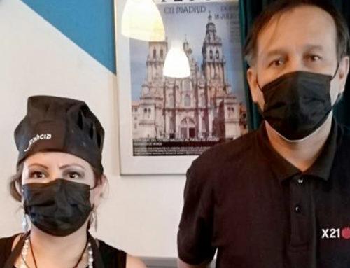 El Xacobeo se da a conocer a través de los trabajadores y trabajadoras del restaurante del Centro Gallego de Madrid