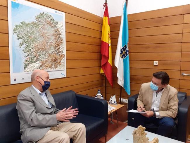 Fernando Rey Paz con Rodríguez Miranda