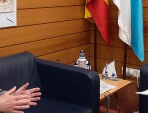 Fernando Rey Paz se reúne con Antonio Rodríguez Miranda, secretario xeral da Emigración