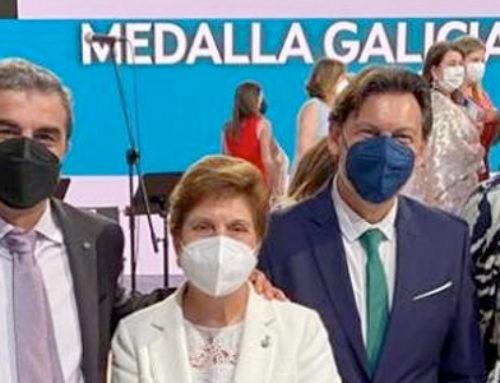 Presencia del Centro Gallego de Madrid en la entrega de la Medalla de Oro de Galicia 2021