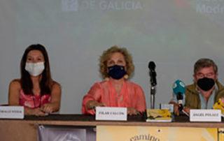 """PRESENTACIÓN DEL LIBRO DE PILAR FALCÓN """"UN CAMINO DE CINE XACOBEO"""""""
