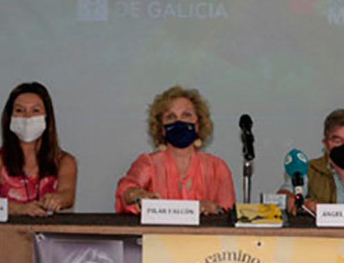 Presentación del libro 'Un camino de cine Xacobeo' de Pilar Falcón