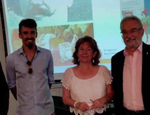Presentación en Sarria de la biografía de Venancio Vázquez López